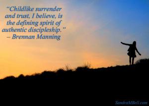childlike surrender-w-quote