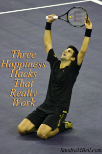 Three happiness hacks