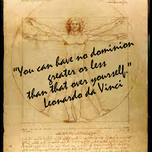 How Small Things & The Vitruvian Man Can Change Your Life