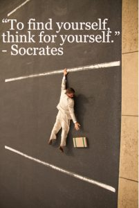 socrates- think for yourself