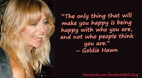 Six Lessons in Authenticity I learned from Goldie Hawn