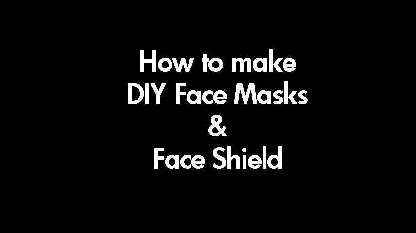 covid-19 diy face mask